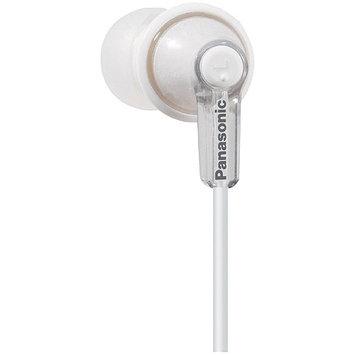 Panasonic RP-HJE120 Earbud Headphones - Silver White