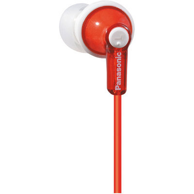 Panasonic RP-HJE120-R Earphone - Stereo - Red