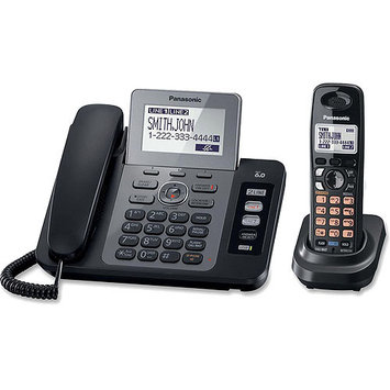 Panasonic Consumer KX-TG9471B 2 Line Corded/Cordless with USB