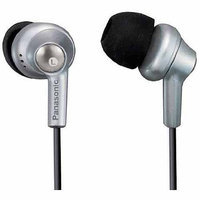 Panasonic Ergo Fit Inner Earbuds, Silver, RP-HJE280-S