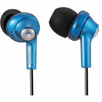 Panasonic Ergo Fit Inner Earbuds, Blue, RP-HJE280-A