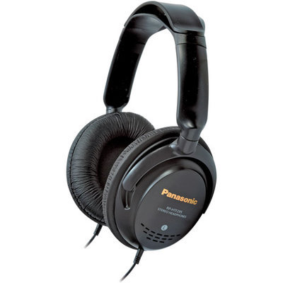 Panasonic RP-HTF600 Step Monitor Headphones, Silver