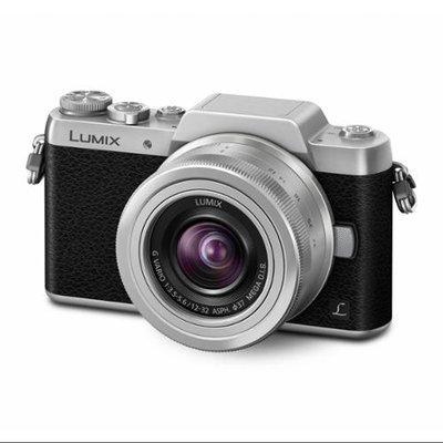 Panasonic - Lumix G Mirrorless Camera With 12-32mm Lens - Silver/black