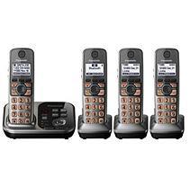 Panasonic KX-TG254SK-R DECT 6.0 Cordless Phone