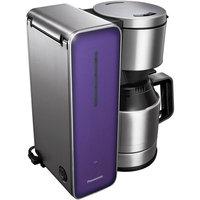 Panasonic Smoke 8-cup Stainless Steel/ Glass Finish Coffee Maker