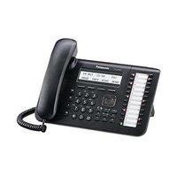 Panasonic KX-DT543 Phone Black Digital 3-line LCD, with Backlight, 24 CO Key, Full Duplex SP-Phone, with Built In EHS