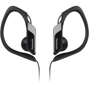 Panasonic Rp-hs34-k Earphone - Stereo - Black - Mini-phone - Wired - 23 Ohm - 10 Hz 25 Khz - Nickel Plated - Over-the-ear Earbud - Binaural - Outer-ear - 3.94 Ft Cable (rp-hs34-k)
