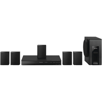 Panasonic Sc-xh105 5.1 Home Theater System - 300 W Rms - Dvd Player - Dvd+rw Dvd-rw Cd-rw - Dvd Video Xvid Flv Mov Video Cd Svcd Avi - Hdmi - USB (sc-xh105)