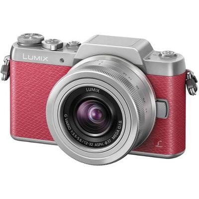 Panasonic - Lumix G Mirrorless Camera With 12-32mm Lens - Black/silver