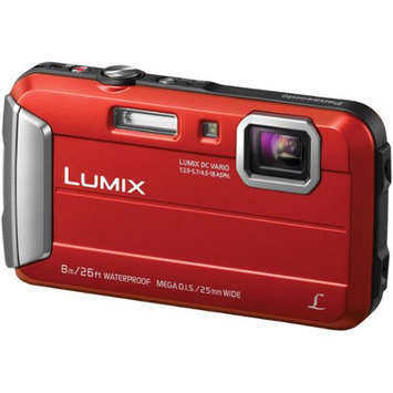 Panasonic - Lumix Dmc-ts30 16.1-megapixel Digital Camera - Red