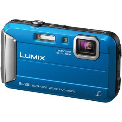 Panasonic - Lumix Dmc-ts30 16.1-megapixel Digital Camera - Blue