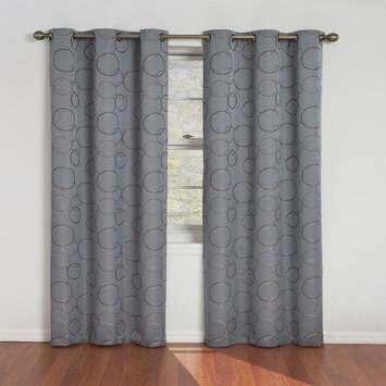 Eclipse Curtains Meridian Single Curtain Panel