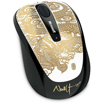 Microsoft Corp. Microsoft Wireless Mobile Mouse 3500 - Gold (GMF-00162)