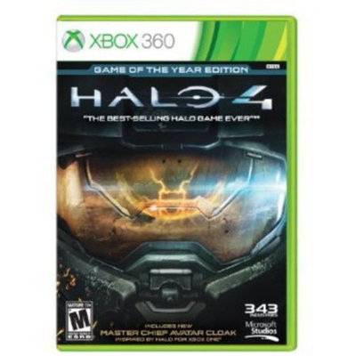 Microsoft Corp. Microsoft Halo 4: Game of the Year Edition for Xbox 360
