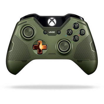 Microsoft Corp. Microsoft - Xbox One Limited Edition Halo 5: Guardians - The Master Chief Wireless Controller - Multi