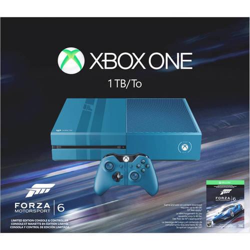 Microsoft Corp. Microsoft - Xbox One 1TB Limited Edition Forza Motorsport 6 Bundle - Blue