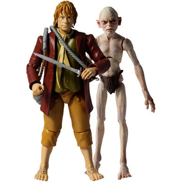 Bridge Direct The Hobbit Bilbo Baggins and Gollum 3.75