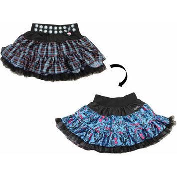Xcessory International Monster High Petti Skirt - Blue and Black Plaid