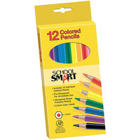 School Smart Colored Pencils - Set of 12 Colors