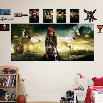 Disney Pirates of the Caribbean Mural Wall Decals by Fathead
