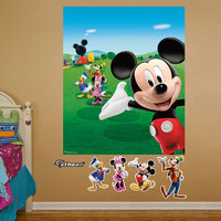 Mickey Mouse Clubhouse Mural Fathead
