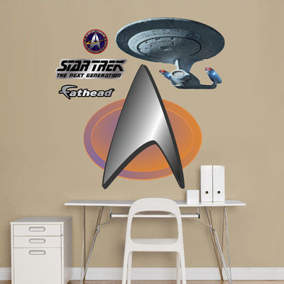 Star Trek: The Next Generation Insignia - Fathead Junior