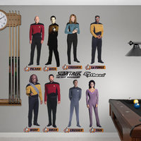 Star Trek The Next Generation Wall Graphic