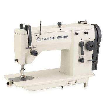 Reliable 20U73 Zig-Zag Straight Sewing Machine- WHITE