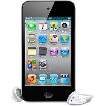 Apple Computers Apple iPod Touch 8GB 4th Generation, Black