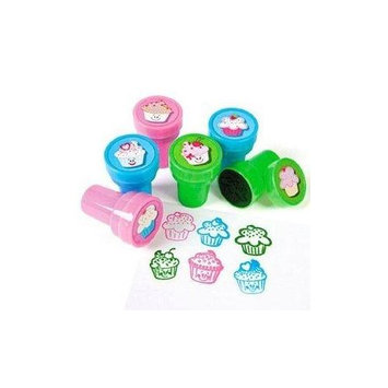 Fun Express Cupcake Stampers - Stationery & Stamps