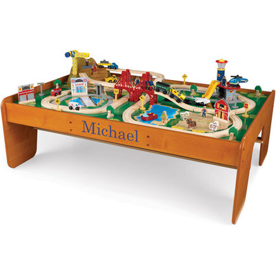 KidKraft Ride Around Town Train Set, Michael