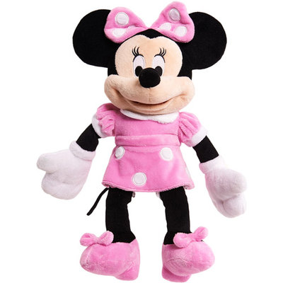 Just Play Disney Character Medium Plush - Minnie Mouse in Pink