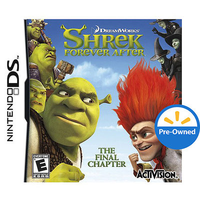 Activision Shrek Forever After for Nintendo DS Preowned