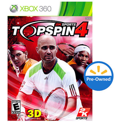 2K Sports Top Spin 4 PRE-OWNED (Xbox 360)