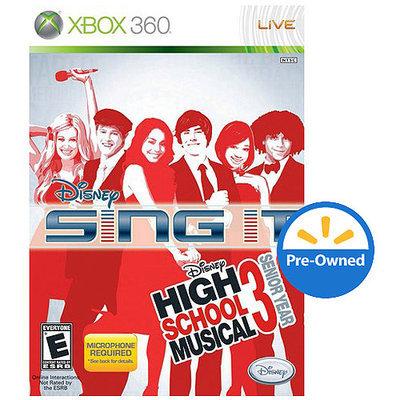 Disney Sing It Hsm 3 Senior Year (Xbox 360) - Pre-Owned