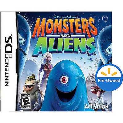 Activision DreamWorks Monsters VS Aliens PRE-OWNED (Nintendo DS)