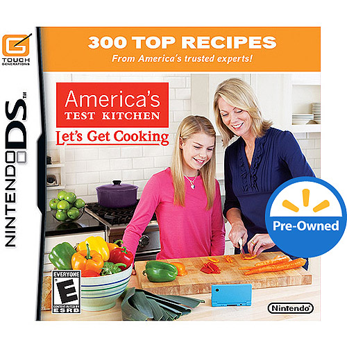 Nintendo Ecom DS Game AMERICA'S TEST KITCHEN: LET'S DS