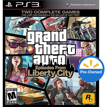 Take-two Interactive Grand Theft Auto: Episodes From Liberty City PRE-OWNED (PlayStation 3)