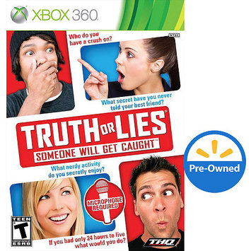 Thq Truth Or Lies (Xbox 360) - Pre-Owned