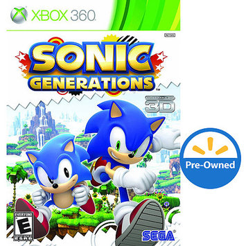 Sega Sonic Generations (Xbox 360) - Pre-Owned