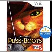 Thq Puss In Boots PRE-OWNED (Nintendo Wii)