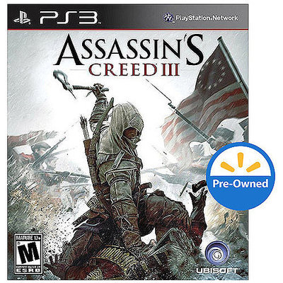 Ubi Soft Assassin's Creed III PRE-OWNED (PlayStaion 3)