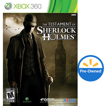 Atlus The Testament of Sherlock Holmes PRE-OWNED (Xbox 360)