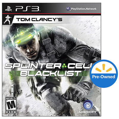 Ubi Soft Splinter Cell: BlackList PRE-OWNED (PlayStation 3)