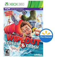 Activision Wipeout Create & Crash PRE-OWNED (Xbox 360)