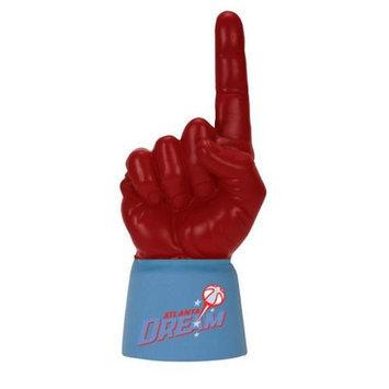 Bretthand ATL-JA-WNBA-278 Atlanta Dream Licensed Light Blue Jersey Sleeve with Scarlet