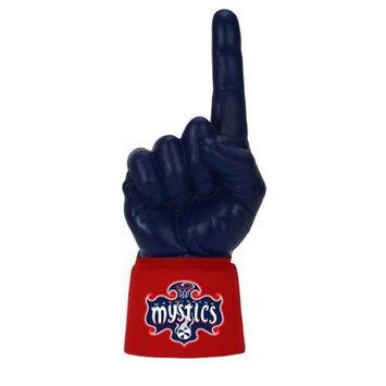 Bretthand WAS-JA-WNBA-187 Washington Mystics Licensed Scarlet Jersey Sleeve with Navy