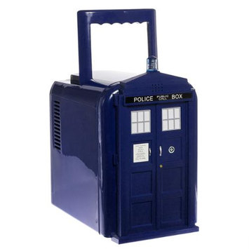Thinkgeek Doctor Who Blue Tardis Mini Fridge