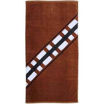 The Robe Factory Star Wars Brown Chewbacca Beach Towel 30 x 60