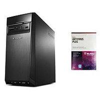 Lenovo H50-50-KIT2 with McAfee Antivirus, Intel Core i5-4460, 8GB Memory, 1TB Hard Drive